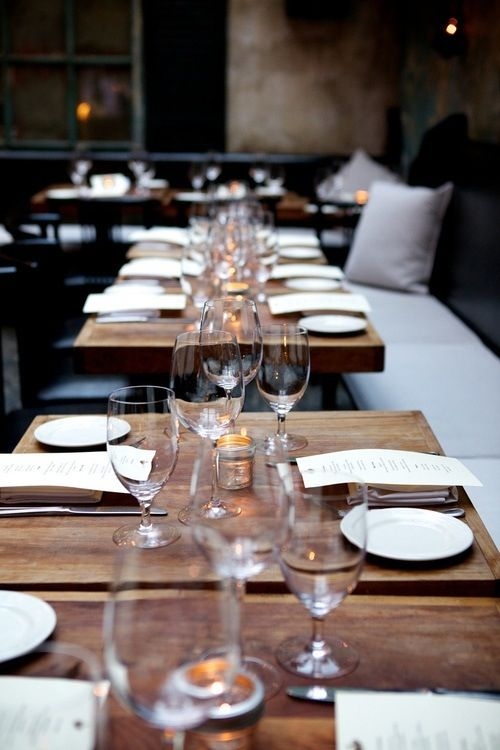 Banquette Seat August Restaurant NYC | luxury restaurants, interior design, home decor. More news at http://www.bocadolobo.com/en/news/