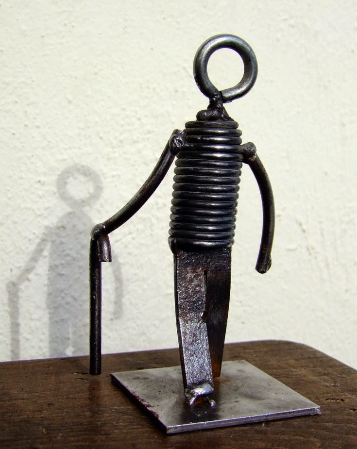 chatarra hierro escultura planetajuande