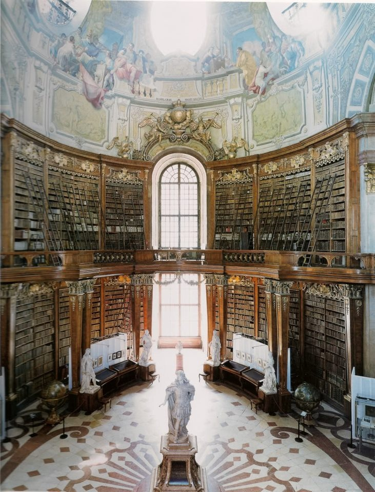 Candida Hofer's LIBRARIES -Austria