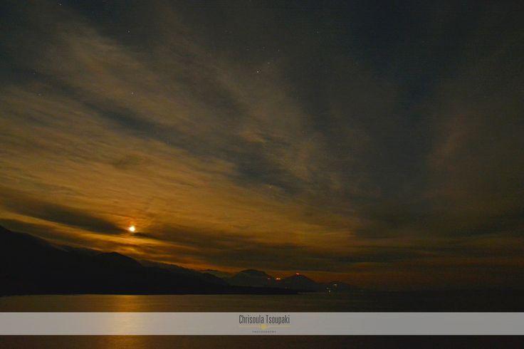 25/12/15: Ice_fullmoon #Frangokastello #Sfakia #Chania #Crete #Greece www.livikoapartments.gr