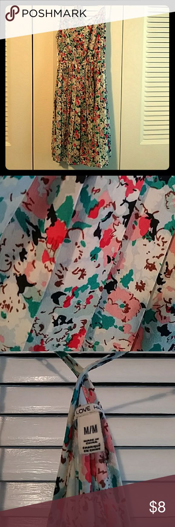Floral Dress Beautiful light weight fit and flare dress. Great vibrant colors. Cute for date night or just a weekend. This was too small for me. Forever 21 Dresses Mini