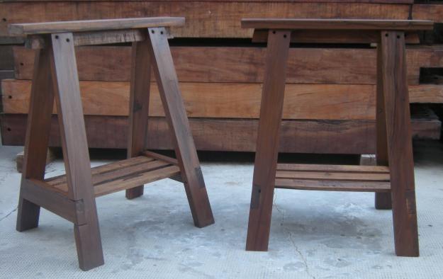 Resultado de im genes de google para for Caballetes de madera para mesas