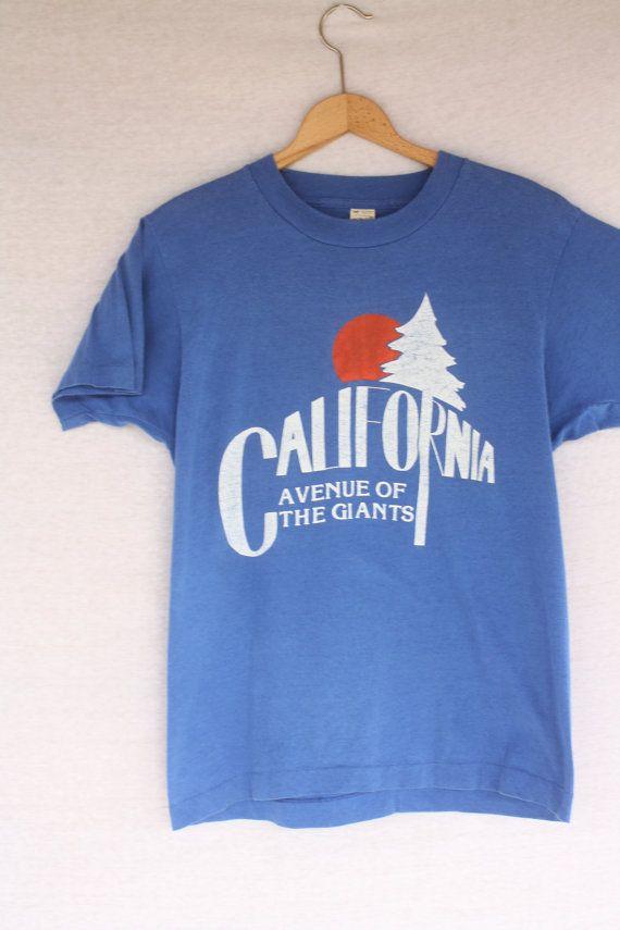 Vintage #Califorina #tourist #tshirt