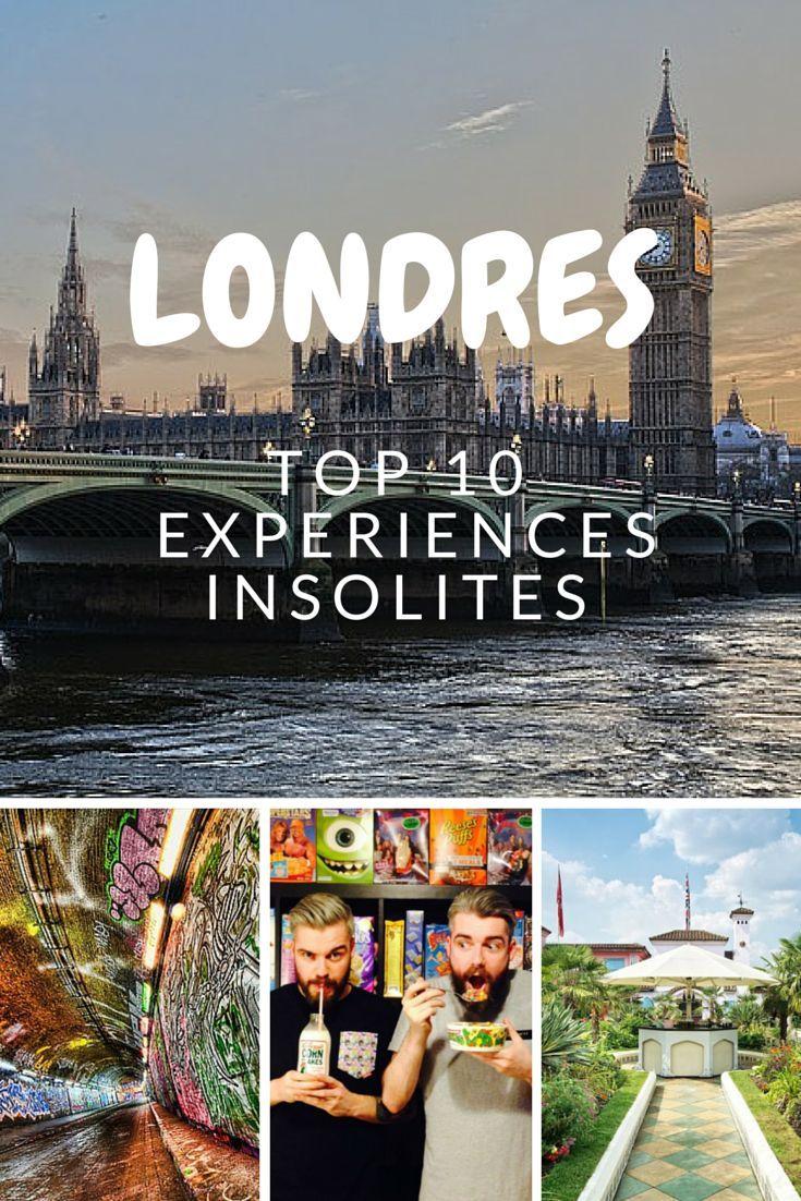 Top 10 des expériences insolites à Londres.
