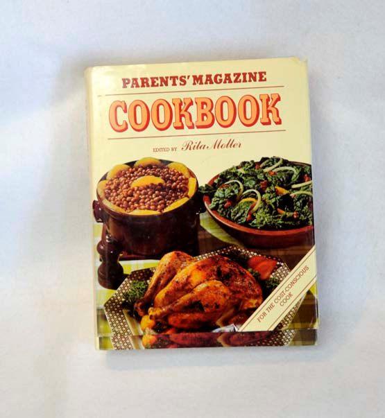 Vintage PARENTS MAGAZINE COOKBOOK.. Rita Molter 1978.. 672