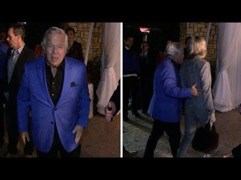 Robert Kraft and Girlfriend: All Smiles 'Thanks For The Baby Wishes'