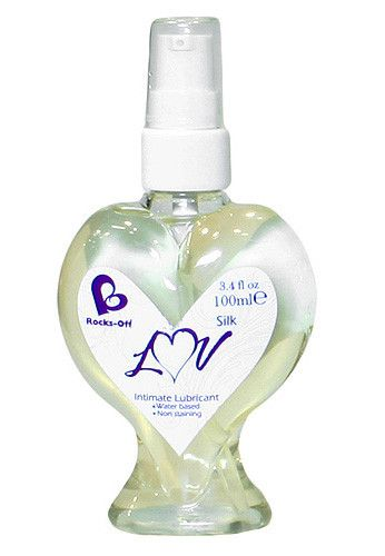 Rocks Off LUV Silk Intimate Lubricant £11.99 This water based, non-staining lube from Rocks Off will give you ultimate slide for enhanced pleasure. www.townoftoys.co.uk