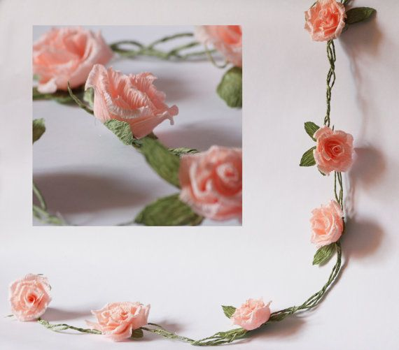 Wedding garland paper wedding garland paper by FlowerDecoration, $11.00