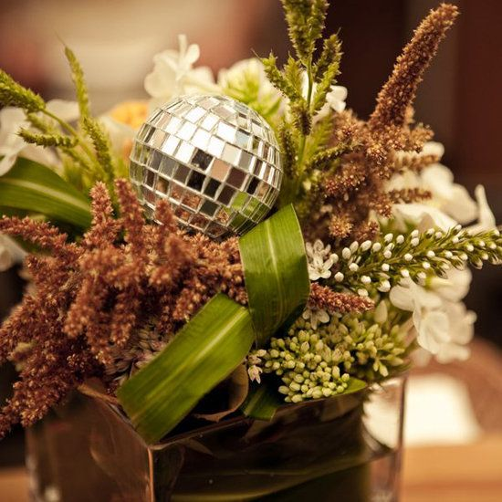 39 Best Disco Ball Centerpieces Images On Pinterest