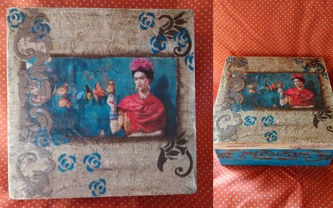 caja de frida kahlo