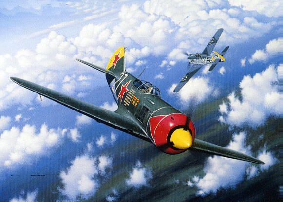 Lavochkin La-7 and La-7 fighter