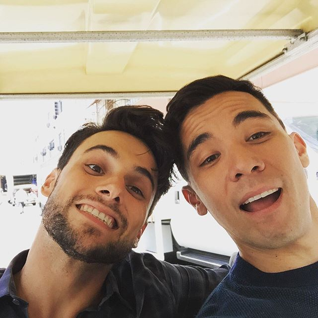 How to get away with Murder ... Jack Falahee and Conrad Ricamora as Connor and Oliver