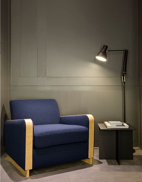 Anglepoise Type 75 Floor Lamp In Hardy Amies By Universal Design Studio