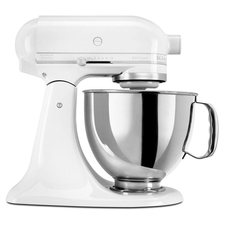 Kitchenaid¨ Artisan Series 5 Quart Tilt-Head Stand Mixer- Ksm150, White On White