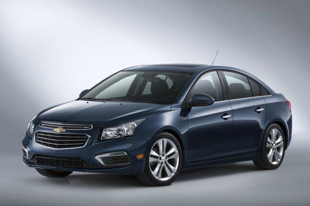 Refreshed 2015 Chevrolet Cruze!  http://eagleridgegm.com