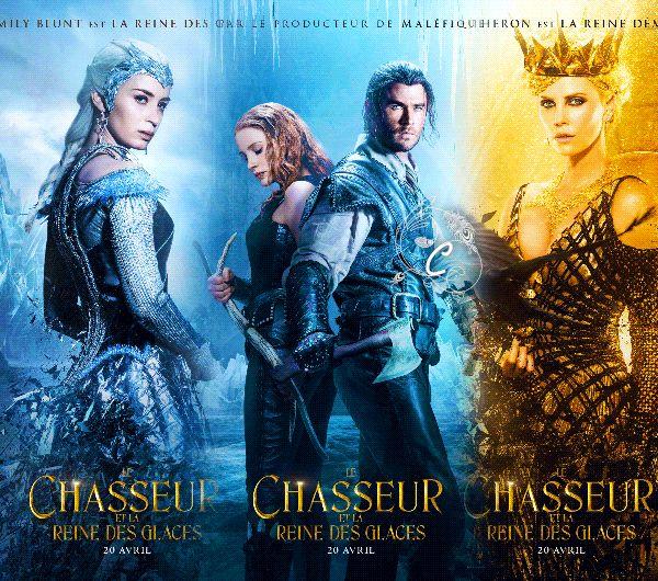 Creationcookie affiches le chasseur et la reine des glaces affiches cinema pinterest - Robe reine des glaces ...