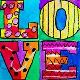 grade 4, do with 3rd. Slant the O