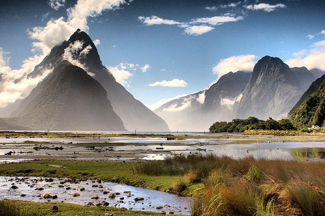 Milford Sound, South Island, New Zealand - there are no words to describe this place. Spent the night on this sound back in 2008.