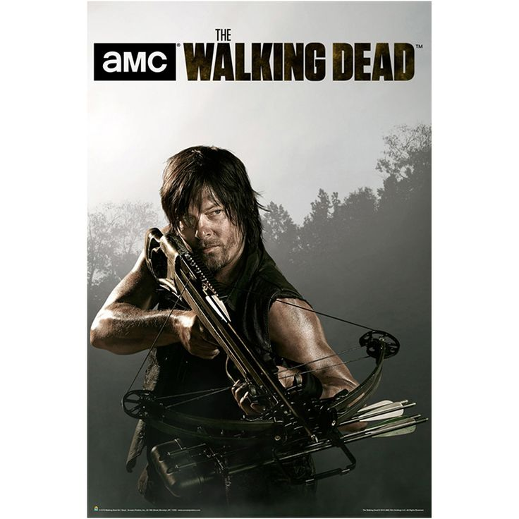 Walking Dead Season 4 Print, Multicolor