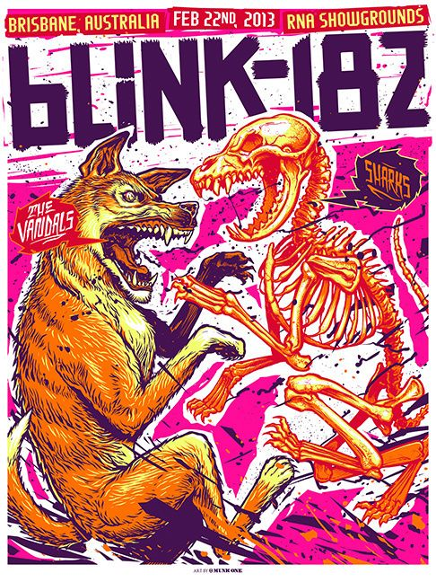 224 Best Gig Posters Images On Pinterest Concert Posters