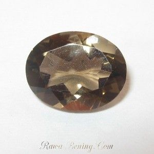 Smoky Quartz Oval 1.57 carat