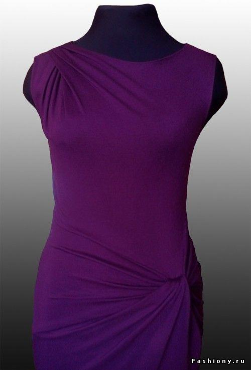 Мк драпировка платье