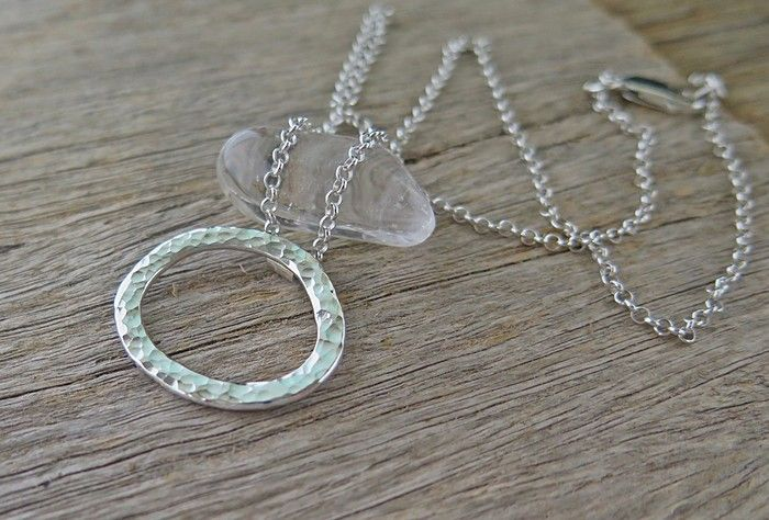 OPEN SPACE, SUSTAINABLE STERLING SILVER NECKLACE