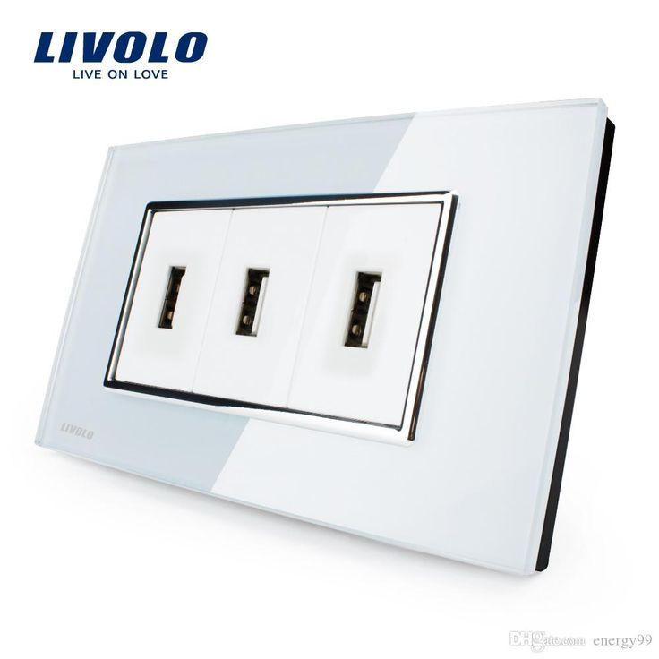 livolo us standard usb socket(1a,5v), white/black crystal glass, wall powerpoints with plug, vl-c393usb-81/82 made by energy99 is on wholesale! stereo systems for home, wireless home theatre system and best home theatre system will definitely meet you visual and audio experience home. You deserve the high quality life.