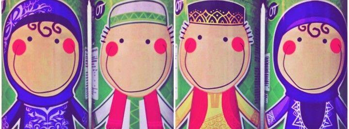sholihah dan sholih #yuksama2 ^^