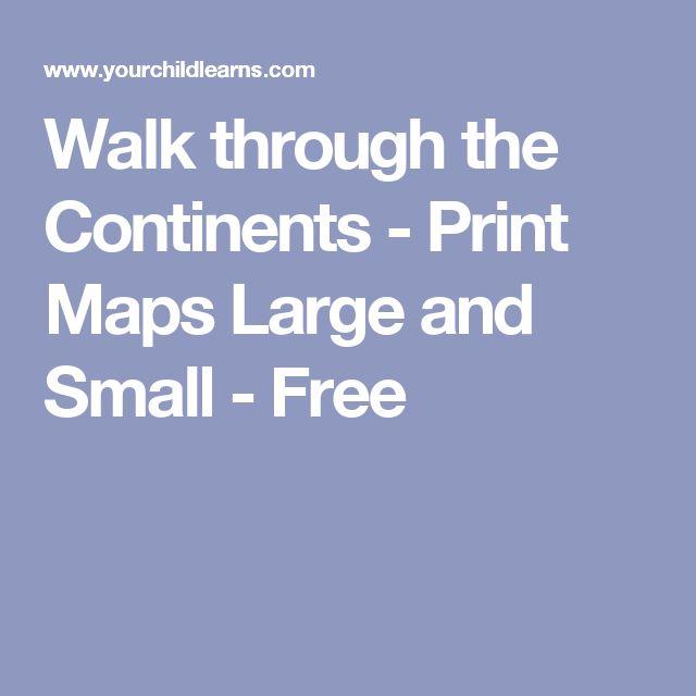 Mapy k vytištění
