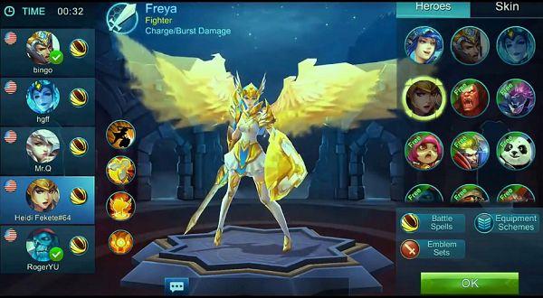 Cara Mendapatkan Freya di Mobile Legends