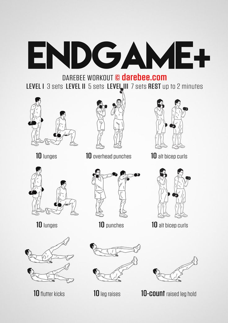 Endgame Plus Workout