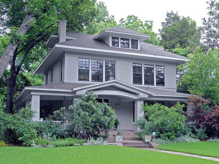 American Foursquare Style House, Swiss Avenue, Dallas