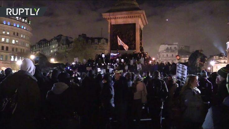 «Марш миллиона масок» в Лондоне