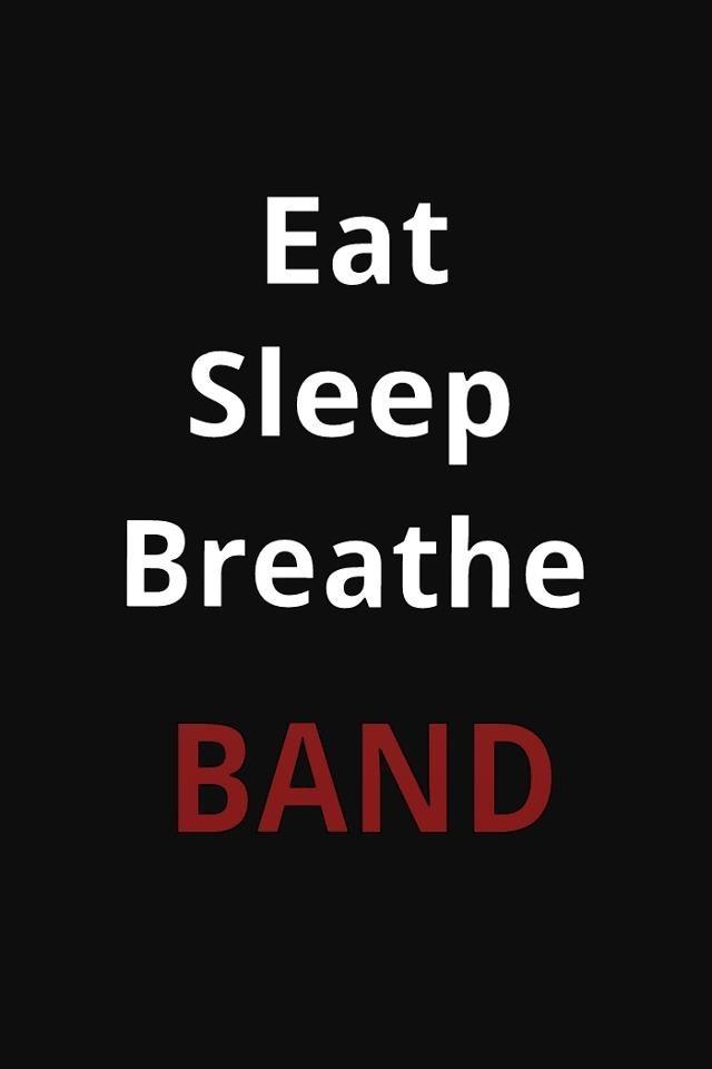 Eat Sleep Breathe Band