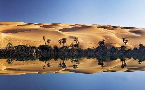 Озеро Убари. Африка