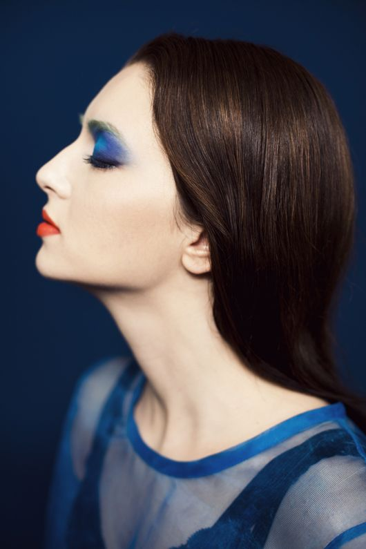 """""""New Medieval"""" make-up collection by Faye Toogood in collaboration with make-up artist Ayami Nishimura for the recently launched beauty brand MAKE."""
