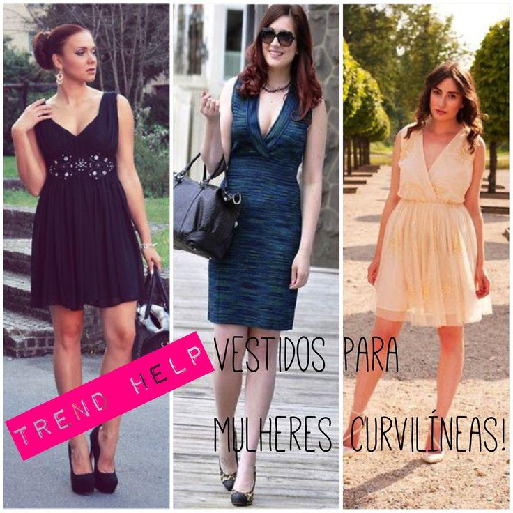 Dicas de looks e vestidos para mulheres curvilíneas!