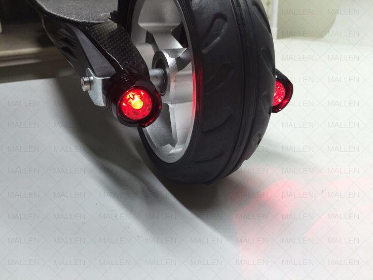 Jack hot fanale posteriore di scooter elettrico in fibra di carbonio per cool e alla moda equitazione