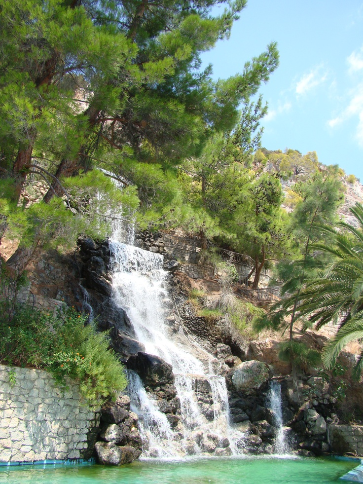Waterfalls in Loutraki (Peloponnese)