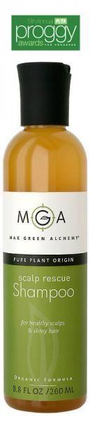 Naturlig hårpleie, organisk/økologisk shampo fra Max Green Alchemy. Award winner!