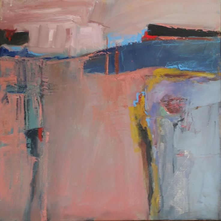 Dahlia Riley Pink Flow 20x20 Acrylics