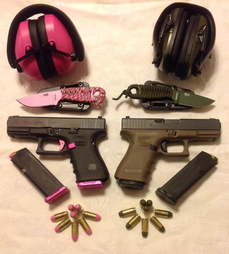 His & Hers Glock