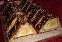 Vyskúšajte úžasný nepečený koláč: strecha z BeBe sušienok