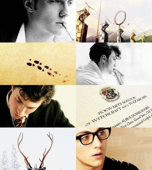 The Marauders: Aaron Johnson as James Potter