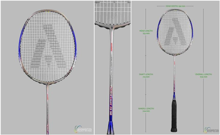 Ashaway Superlight 79SQ Badminton Racket