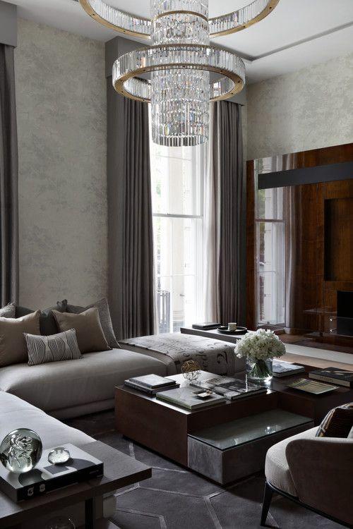 'The Park Crescent residence.' Oliver Burns,...