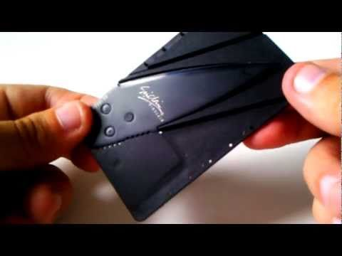 A Credit Card size Combat knife? The Ceramic Chef knives. Combat Knives.a Credit Card Knife The Best Tactical Folding Knives, This is really a knife for men and woman, self-defense, cutting rope and many other uses. The video on the blog shows you how to assemble this credit card size combat knife in no time at all. The Ceramic Chef knives. Combat Knives also has folding Knife for you to see.