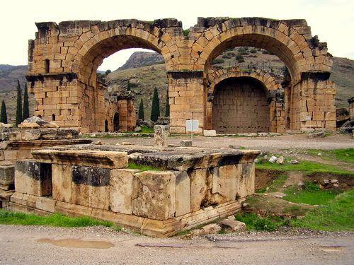 Hierapolis ruins Turkey