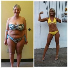 Amazing Body Transformation: Woman Loses 70 lbs at 40 - Oooh yeah! @Jessica Grinsteinner Marler